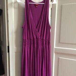 Merona drapey and stretchy sundress